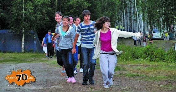 В христианский лагерь летний