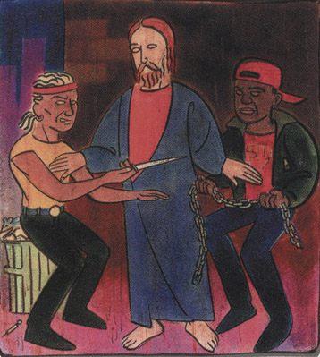 Иисус с бандитами
